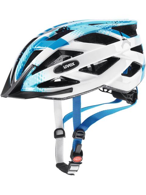 UVEX Air Wing Helmet blue-white